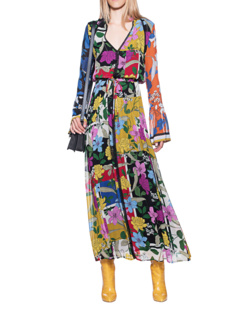 JADICTED Flower Maxi Multicolor