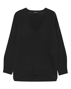 JADICTED Deep V Neck Black