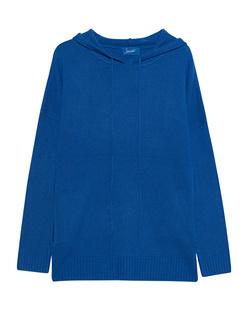 JADICTED Hood Knit Cashmere Blue