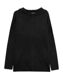 JADICTED Hood Knit Cashmere Black