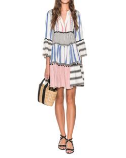 DEVOTION Ethno Dress Multicolor