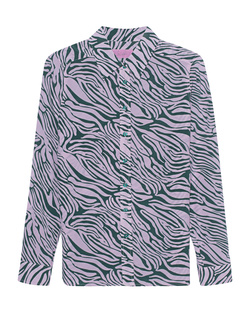JADICTED Silk Print Zebra Multicolor