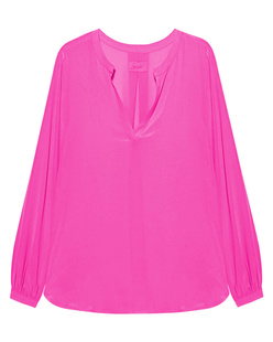 JADICTED V-Neck Silk Pink