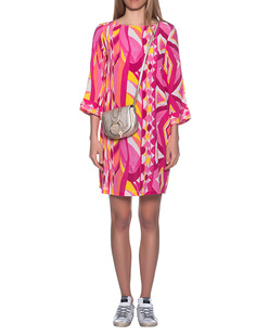 JADICTED Silk Dress Pink