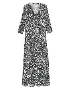 JADICTED Long Zebra Black White