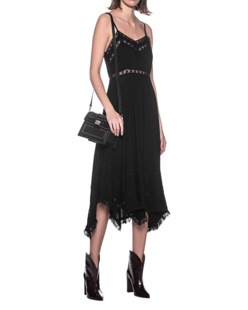 JADICTED Lace Dress Black