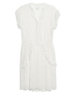 JADICTED Lace Pleats White