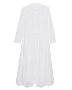 JADICTED Shirt Dress White