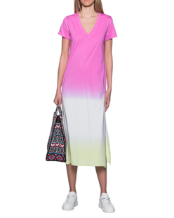 JADICTED Batik Long Shirt Pink