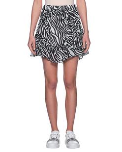 JADICTED Frill Zebra Black White