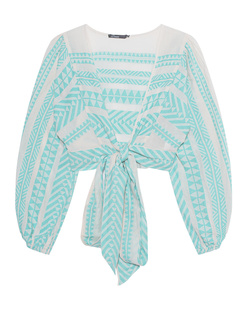 DEVOTION Crop Embroidery Mint