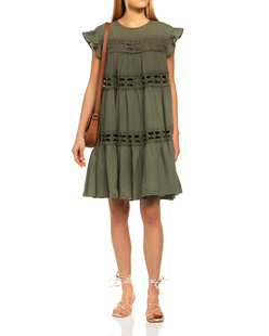 DEVOTION Cotton Lace Khaki