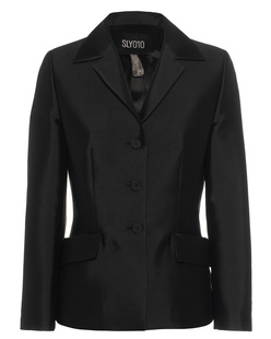 SLY 010 Jacket Shine Button Black