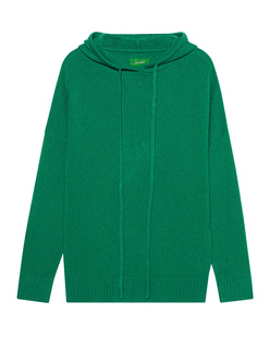 JADICTED Hooded Cashmere Green