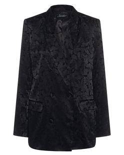 JADICTED Tonal Floral Pattern Black