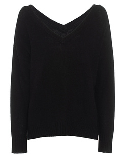 JADICTED Cashmere V-Neck Black