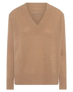 JADICTED V-Neck Cashmere Beige