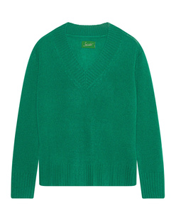 JADICTED V-Neck Cashmere Green