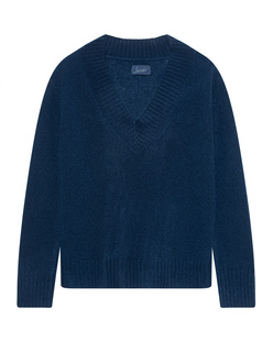 JADICTED V-Neck Cashmere Navy