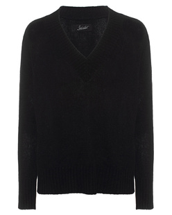 JADICTED V-Neck Cashmere Black