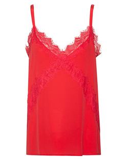 JADICTED Lace Silk Red