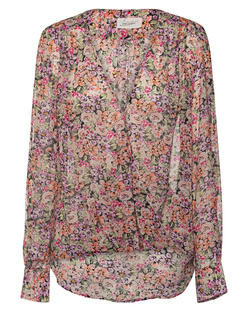 JADICTED V Neck Flower Multicolor