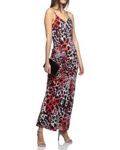 JADICTED Silk Leopard Red