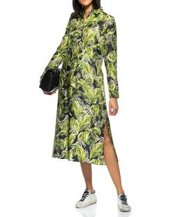 JADICTED Palm Silk Long Green