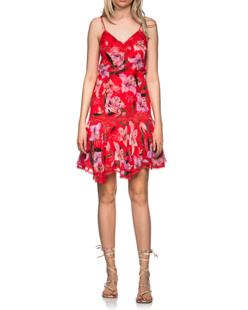 JADICTED Lilly Lace Flower Red