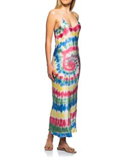 JADICTED Slip Dress Batik Multicolor