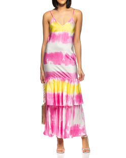 JADICTED Slip Batik Volants Multicolor