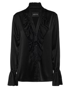 JADICTED Silk Ruffle Black
