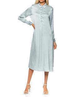 JADICTED Silk Long Blue