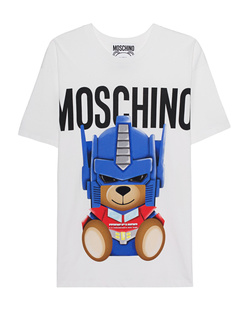 MOSCHINO Transformers Teddy Oversize White