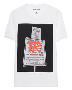 TRUE RELIGION Print Front White