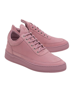 Filling Pieces Low Top Perforated Lila