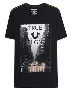 TRUE RELIGION Rain Street Black