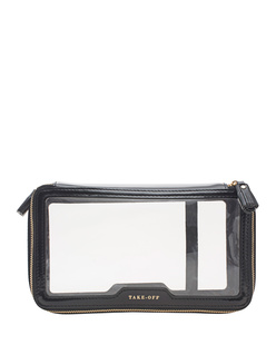 ANYA HINDMARCH Inflight Plastic Clear