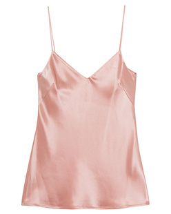 GALVAN LONDON Satin V Neck Nude