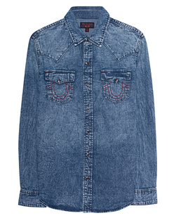 TRUE RELIGION Western Blue