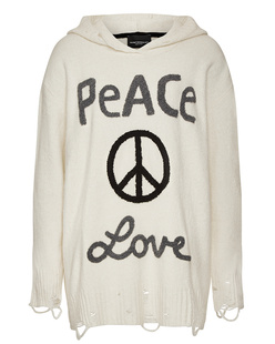 Deux Visions Paris Peace & Love Off White