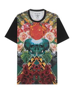 TRUE RELIGION Skull Allover Flower Multicolor