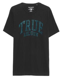 TRUE RELIGION Crew Sparkle Black