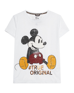 PRINCESS GOES HOLLYWOOD Mickey Rhinestones White