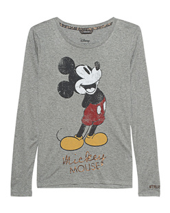 PRINCESS GOES HOLLYWOOD Mickey Basic Print Gainsboro Grey