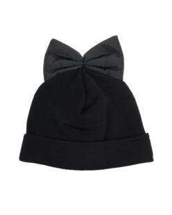FEDERICAMORETTI Blu Bow Contrast Black