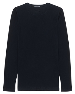 HANNES ROETHER Long Crew Navy