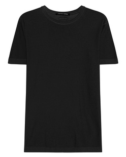 HANNES ROETHER Basic Shirt Black