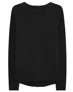 HANNES ROETHER Mixed Longsleeve Black