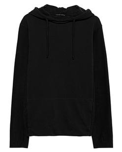 HANNES ROETHER Hood Fabric Mix Black